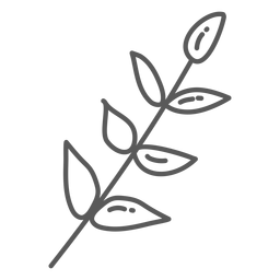 Stem leaf doodle