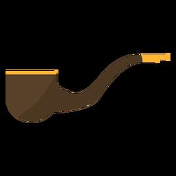 Tabacco pipe flat