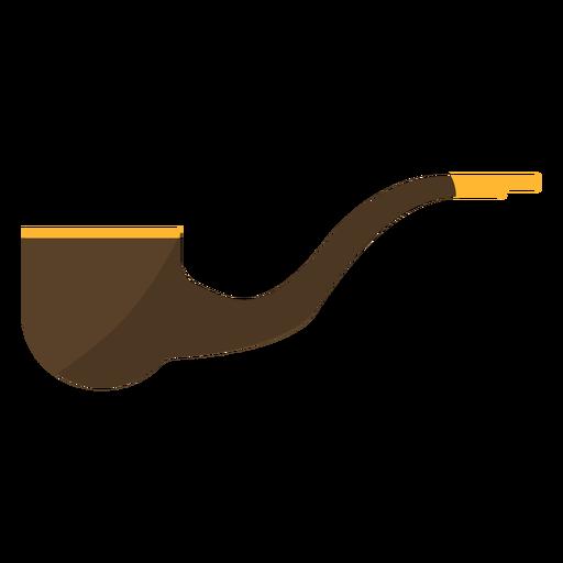 Tubo de tabaco plano Transparent PNG