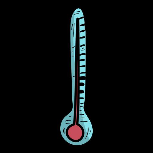 Temperatur des Thermometers flach Transparent PNG