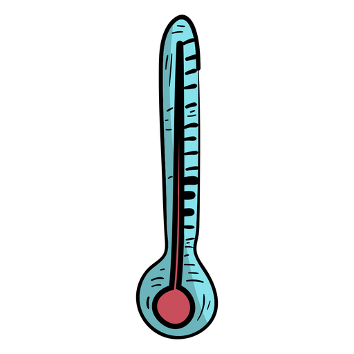Temperatura do termômetro plana Transparent PNG