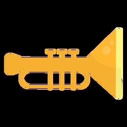 Trumpet flat