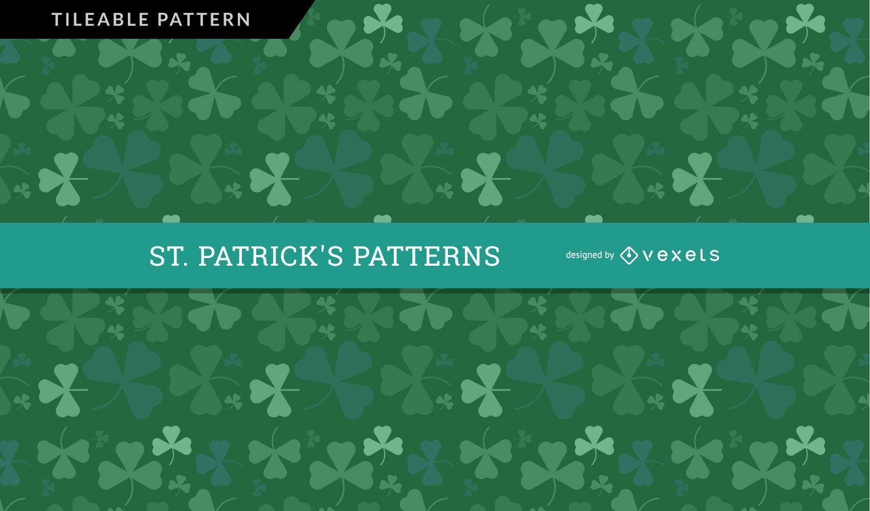 Saint Patrick's Day Clover Pattern