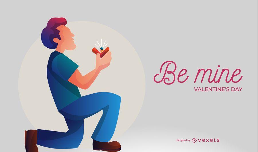 Ilustración de la propuesta de Be Mine
