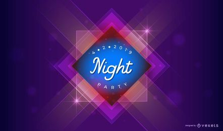 Nacht Party Design