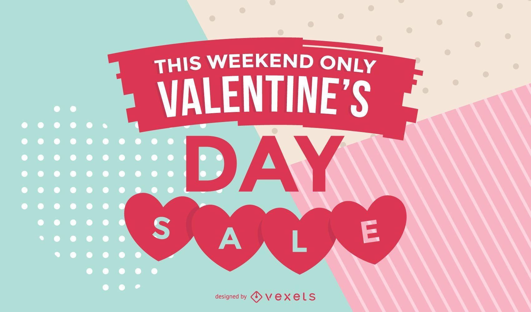 Valentine's Day Sale Promo Design