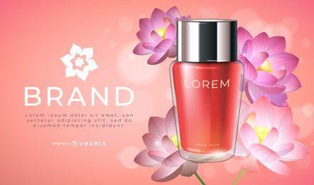 Lotus Produkt Werbung Design