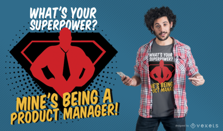 Product Manager T-Shirt Design