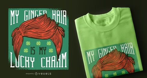 Ginger Hair T-Shirt Design