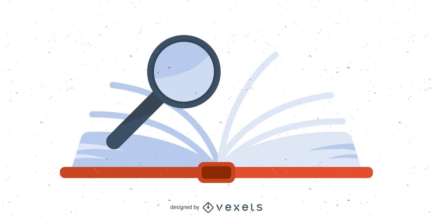 Open Book Icon Design