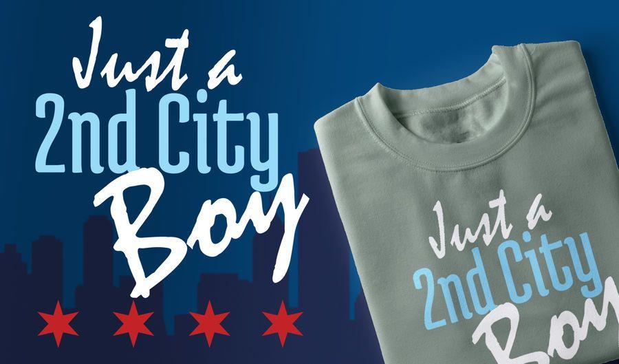 Segundo projeto do t-shirt do menino da cidade