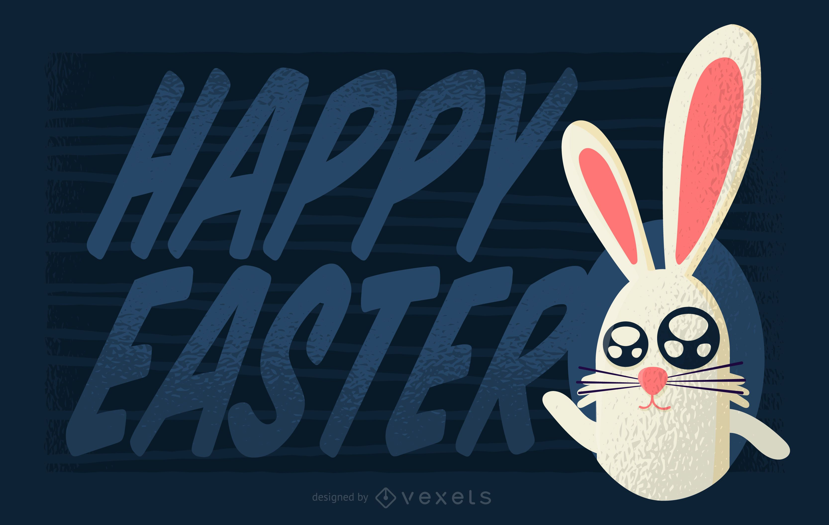 Happy Easter Greeting Design