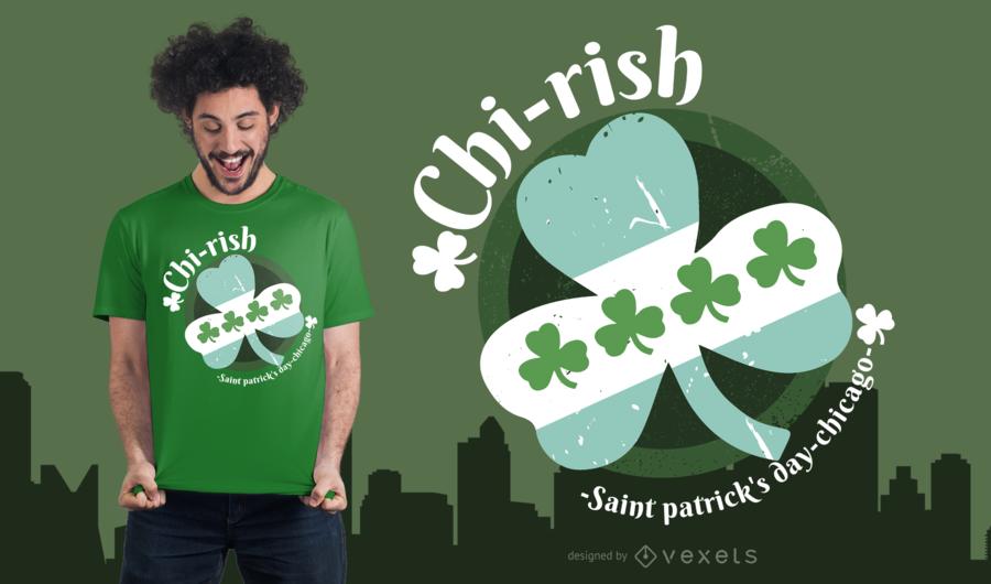 Chicago Irish T-Shirt Design