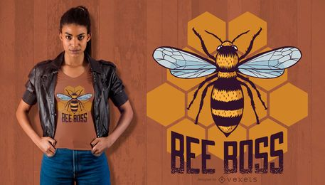 Bee Boss T-Shirt Design