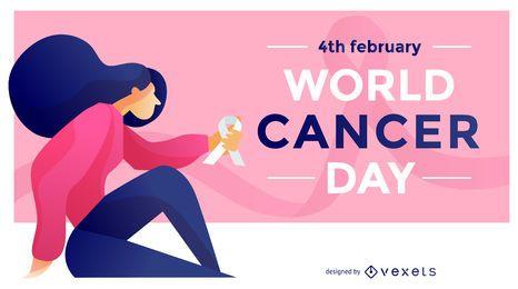 Ilustração do dia mundial de cancelamento
