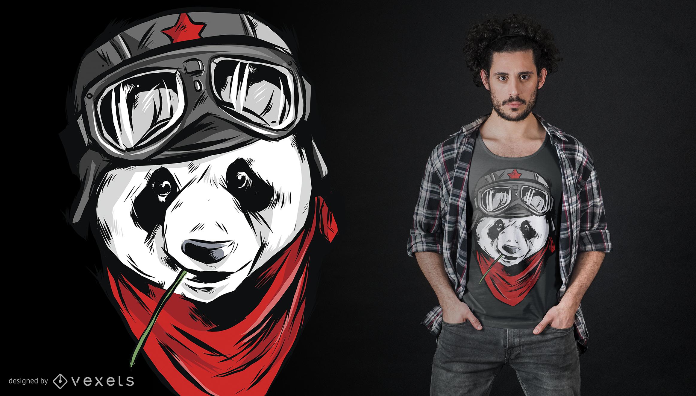 Cool Panda T-Shirt Design