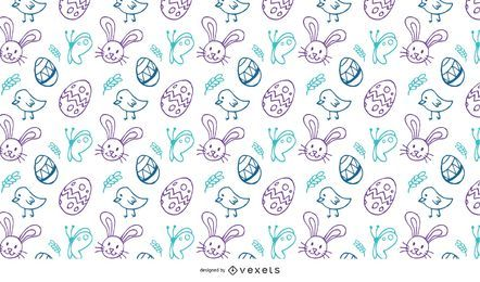Easter Doodles Pattern