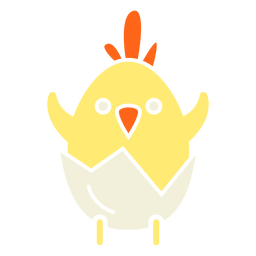 Easter chick illustration