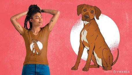 Rhodesian Ridgeback T-shirt Design