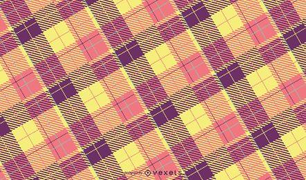 Design de padrão xadrez pastel