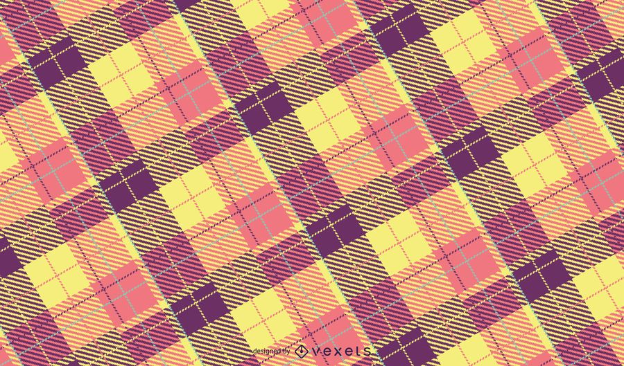 Pastel Plaid Pattern Design
