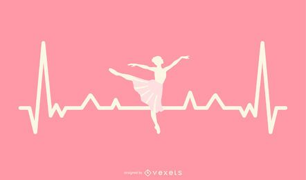 Bailarina Heartbeat Design