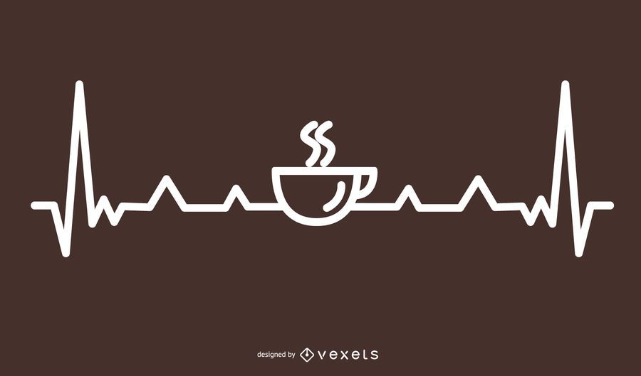 Línea de café Heartbeat Design