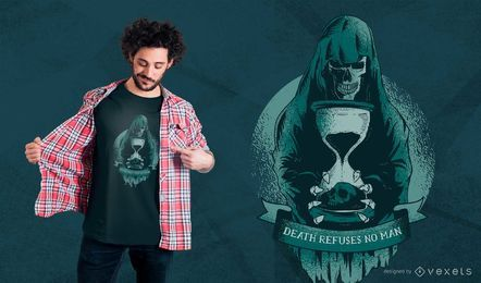 Diseño de camiseta de Grim Reaper