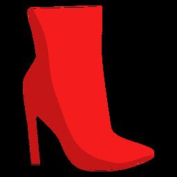 Botín bota bota pico tacón estilete plano