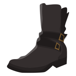 Boot buckle illustration