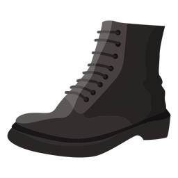 Boot lace sole illustration