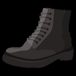 Ilustração da sola de renda da bota