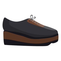 Stiefel zeigen Spitze Sohle flach