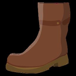 Suela de bota plana