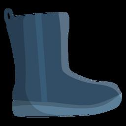Bota ugg bota de fieltro bota alta piel raya de arranque plana