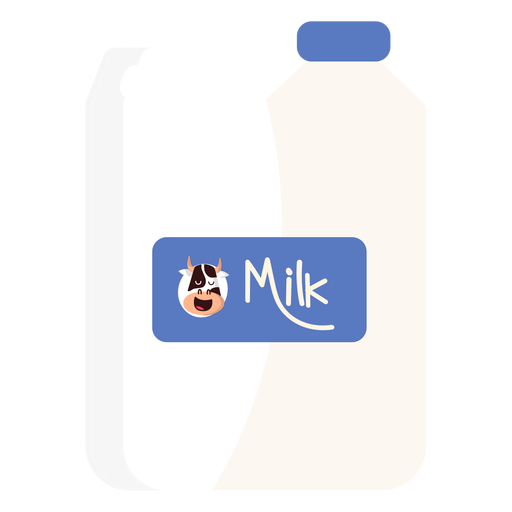 Canister jerrycan milk cow illustration Transparent PNG