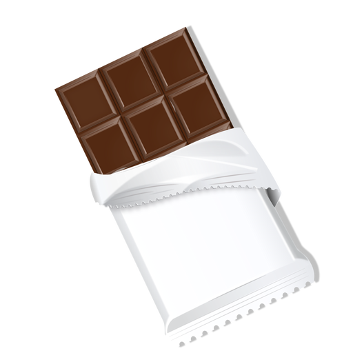 Barra de chocolate chocolate ladrillo leche chocolate ilustración Transparent PNG
