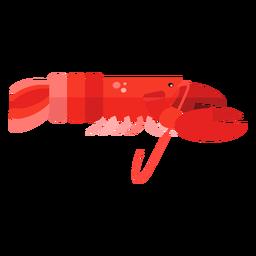 Antena de lagosta garra plana