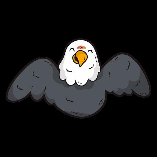 Águia bonito asa voar voando bico plana Transparent PNG