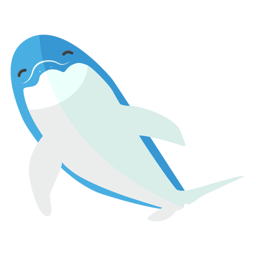 Dolphin tail flipper swimming flat Transparent PNG