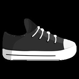 Gymshoes plimsoll jogging zapato zapatillas de deporte de encaje ilustración