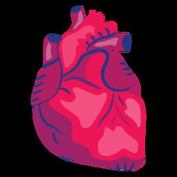 Heart organ flat