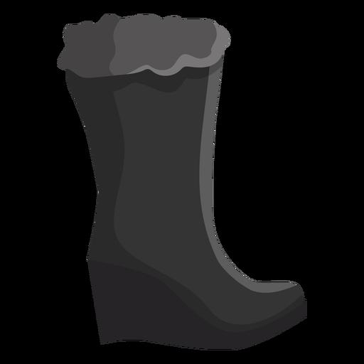 b5096a869cc5 High boot fur flat - Transparent PNG   SVG vector
