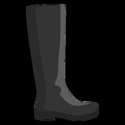 Hessische Stiefelette mit hohem Stiefel