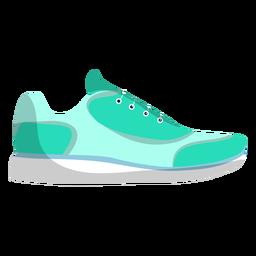 Zapatillas deportivas de zapatillas de cordones para correr planas.
