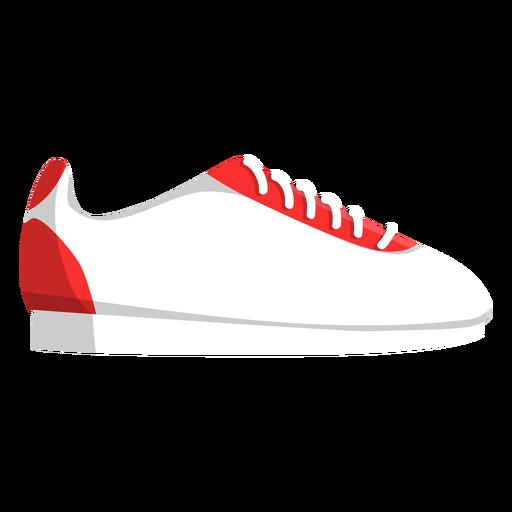 Jogging shoe lace trainers sneaker illustration Transparent PNG