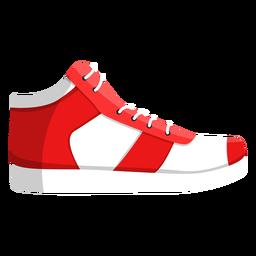 Zapatillas de deporte para correr con zapatillas de cordones ilustración