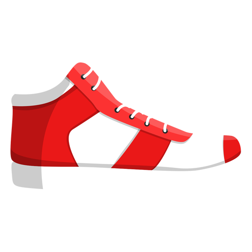 Jogging shoe trainers lace sneaker illustration Transparent PNG