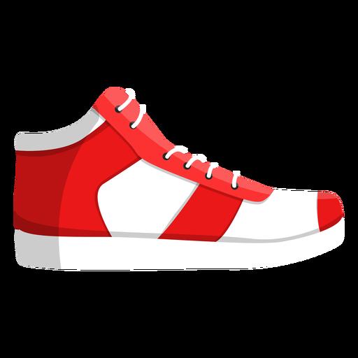 Zapatillas de deporte para correr con zapatillas de cordones ilustración Transparent PNG