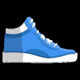 Sapatilhas de sapato movimentando-se sapatilha rendas ilustração